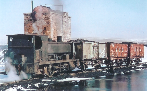 Shunter at Kames Colliery around 1968